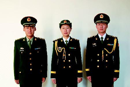 07式陆军军装图片大全 解放军07式女陆军军装 中国07式陆军军装图片